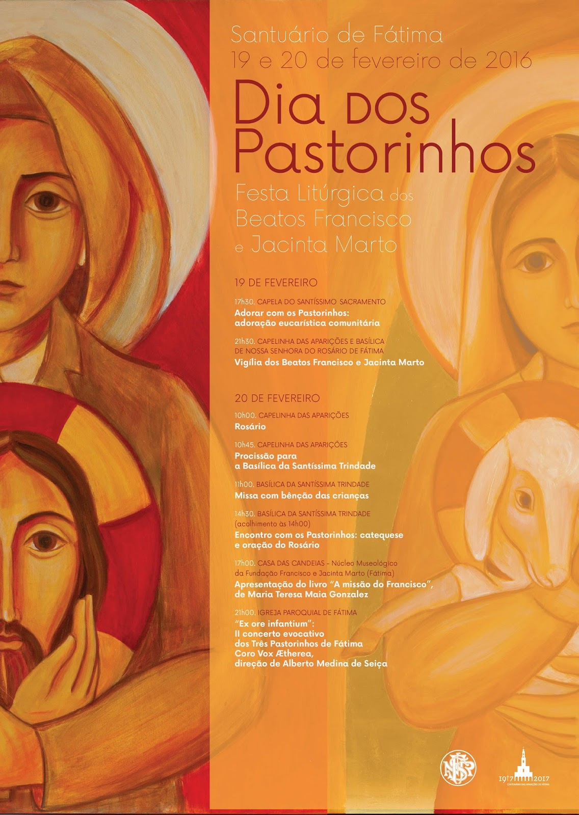 Dia dos Pastorinhos celebrado pelo Santuário com um concerto e o lançamento de um livro
