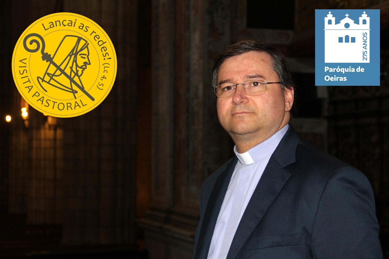 D. Américo Aguiar estará entre nós no âmbito da  Visita Pastoral de 17 a 23 de fevereiro.