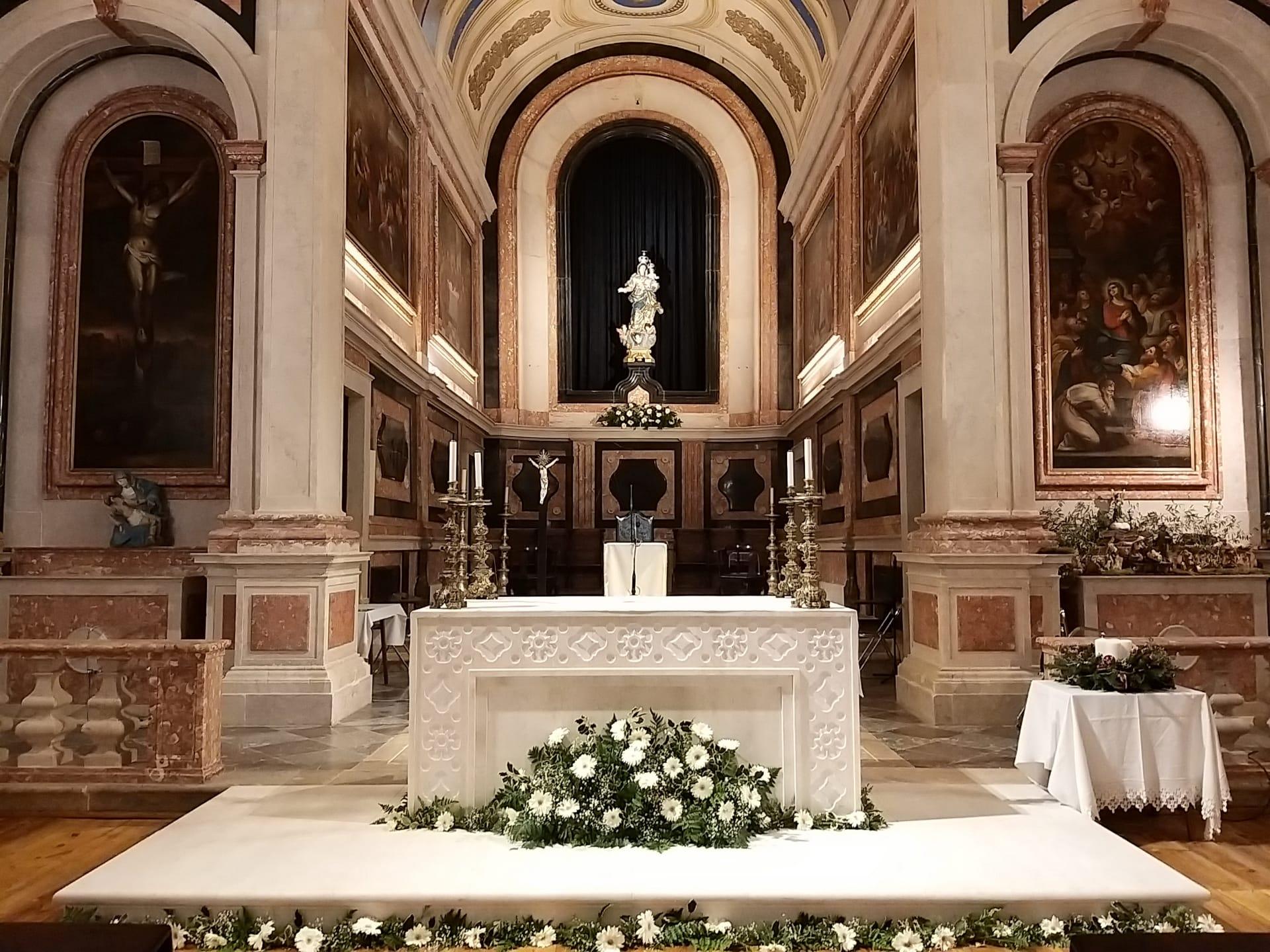 Celebração da reabertura e Dedicação do novo Altar