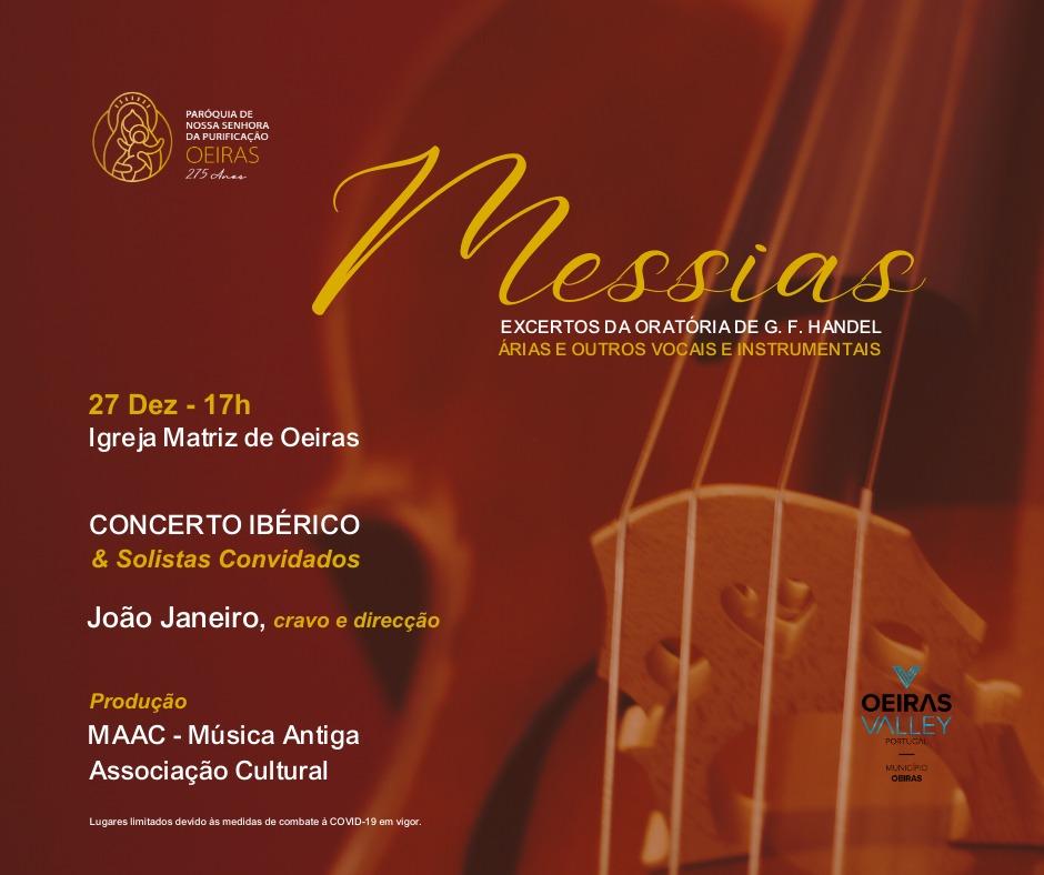 Messias, Excertos da Oratória de G.F.Handel