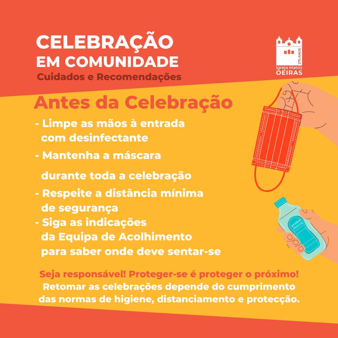 Como participar nas Celebrações Comunitárias